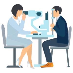 Vyšetrenie zraku MAJOR OPTIK očná optika Košice